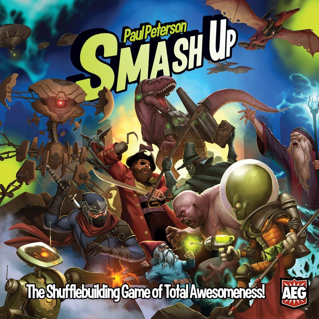 Zombies, pirates, wizards, killer robots: 4 reasons why you need to play Smash Up.