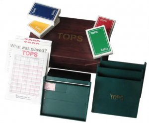 Tops Bridge Set - Gifts for Card Players