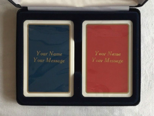 Richmond Bridge Personalized Playing Cards