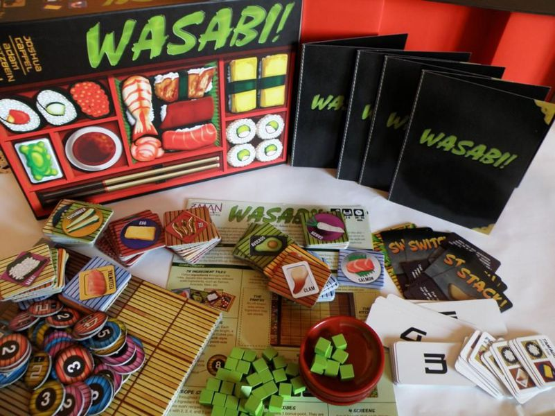 Wasabi: The Competition Game That Makes You Hungry