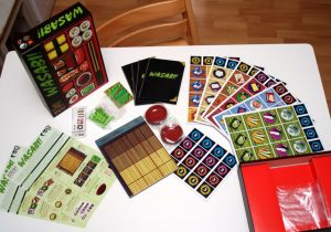 Wasabi Board Game Set Up - Gifts for Card Players