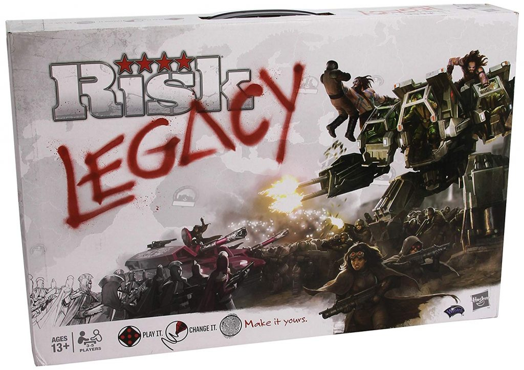 Risk Legacy: For Seasoned Risk Players Looking For Something New