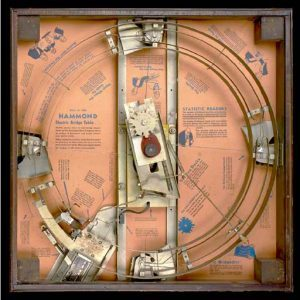 Hammond Electric Bridge Table - Gifts for Card Players