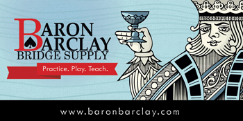 Baron Barclay Bridge Supply. Practice. Play. Teach.