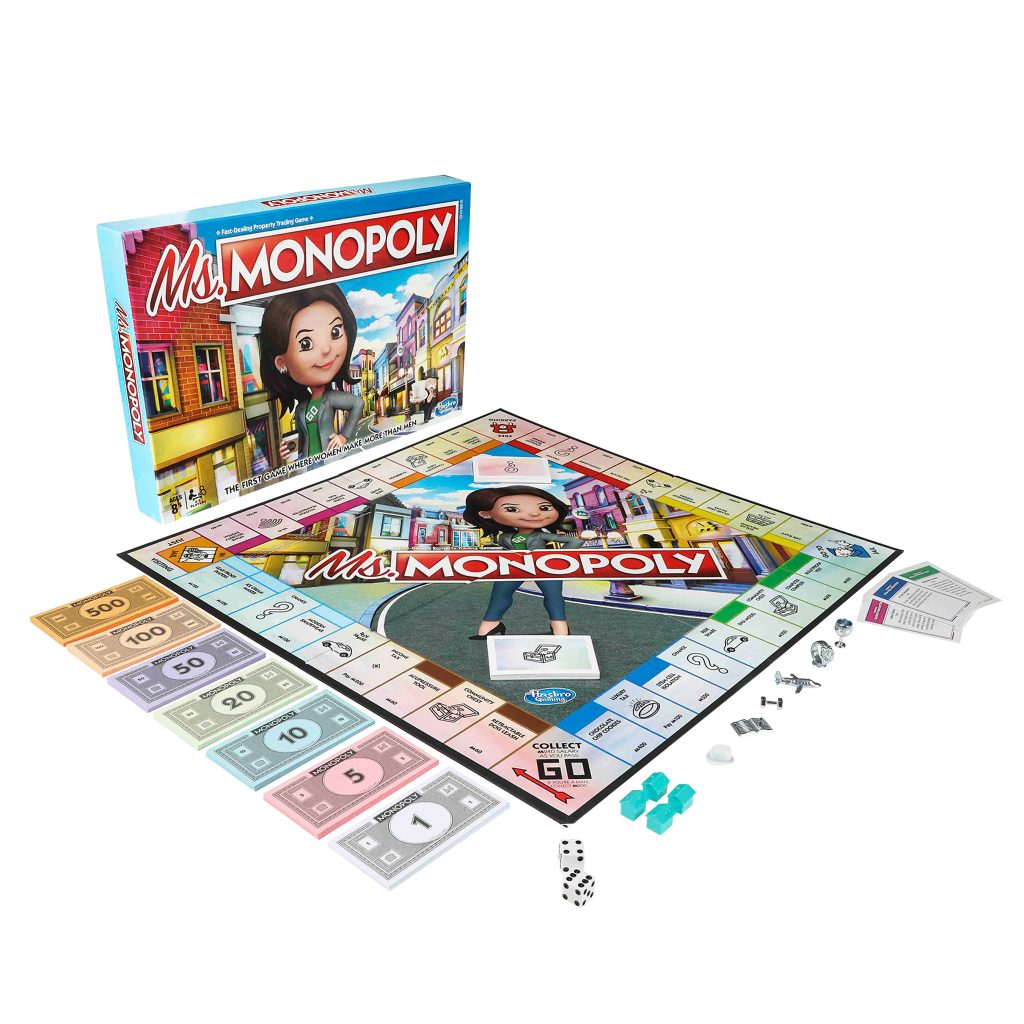 What's Up with Ms Monopoly?