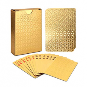 Gold Playing Cards - Gifts for Cards Players