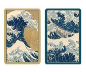 Garden Decoupage large print Bridge set - Gifts for Card Players
