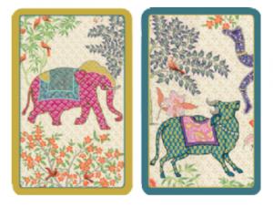 Le Jardin de Mysore Bridge Cards - Gifts for Card Players