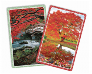 Reflections Bridge cards - Gifts for Card Players