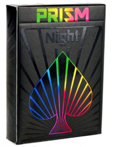 Prism Night Playing Cards - Gifts for Card Players