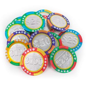 Poker Chips Chocolate
