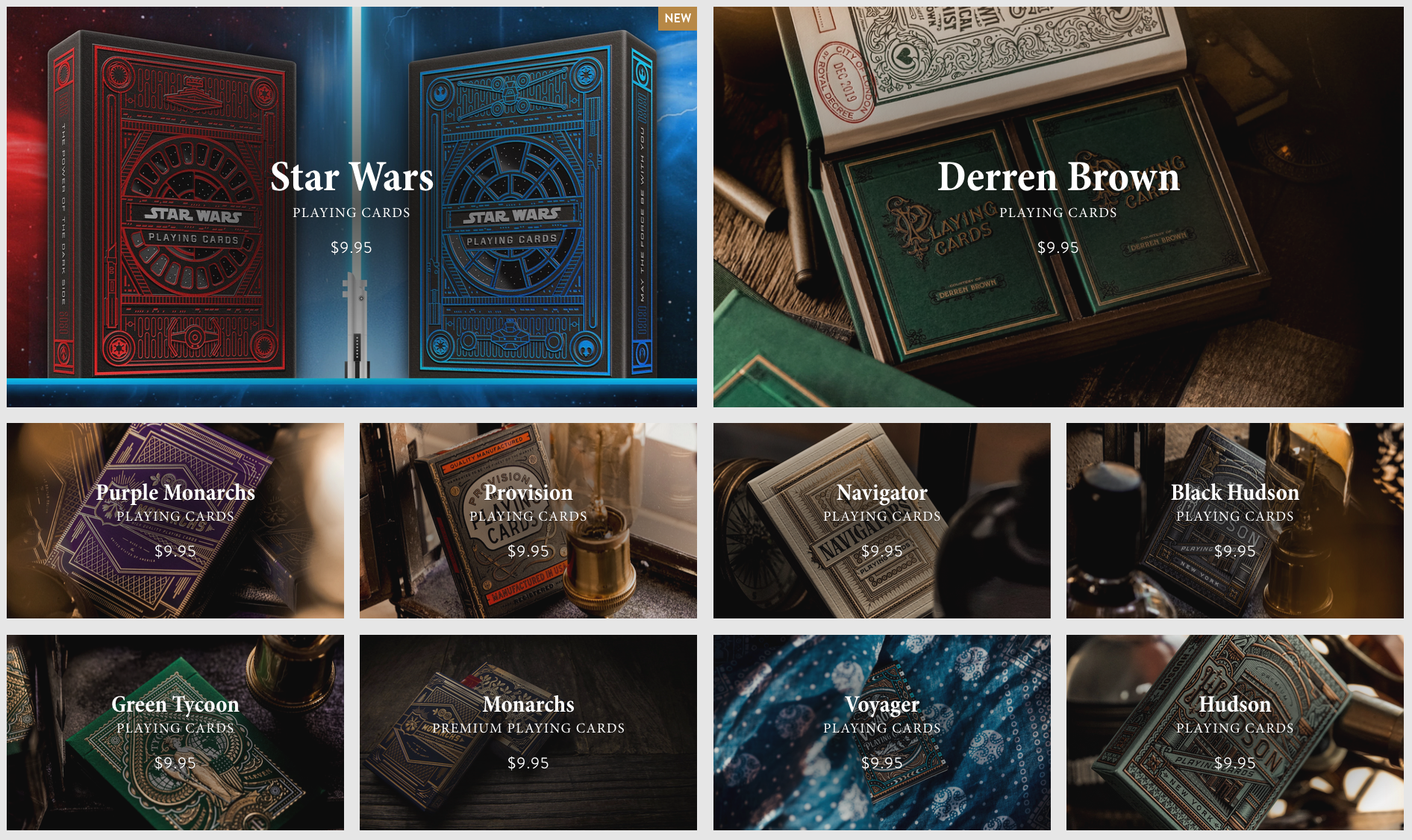 Theory11 worlds finest playing cards