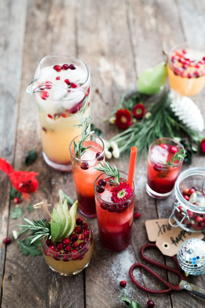 Holiday Drinks for Card Game Parties