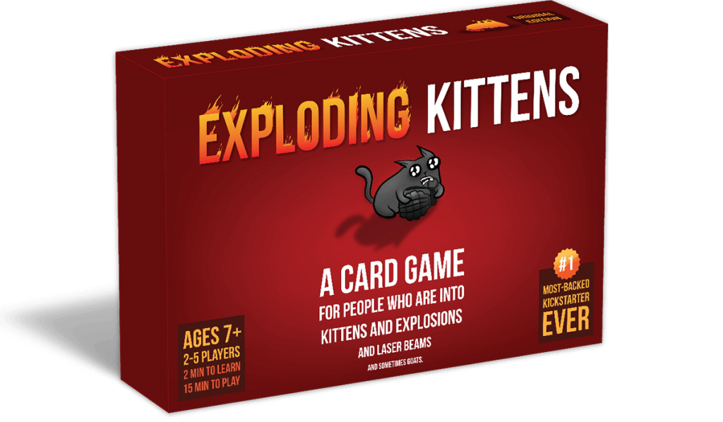 Loved Exploding Kittens but now what?