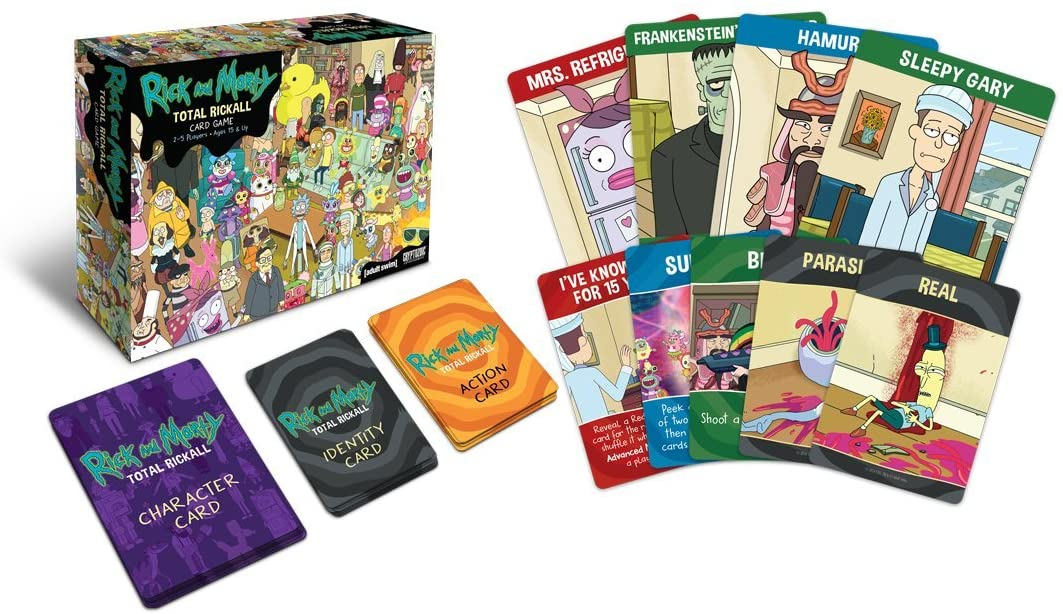 Rick and Morty Inside - Gifts for Card Players