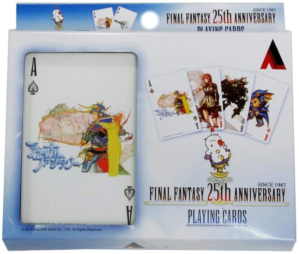 Final Fantasy 25th Anniversary Playing Cards Set Review