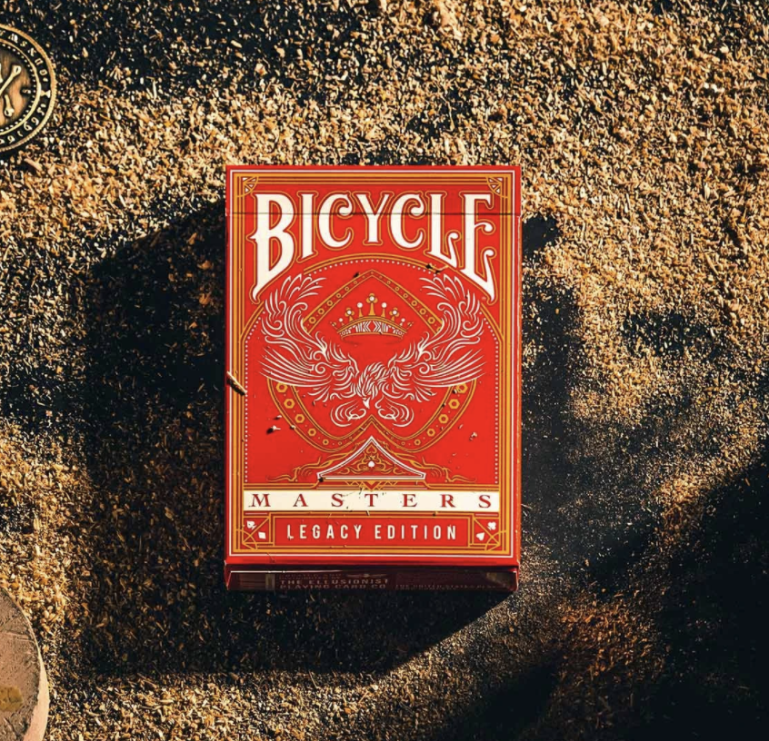 Bicycle Red Legacy Masters from the Ellusionist