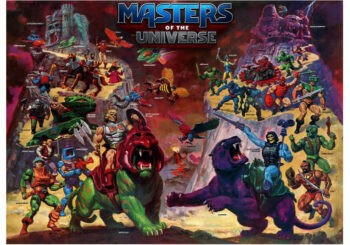 Masters of the Universe and other new Board Games for 2021