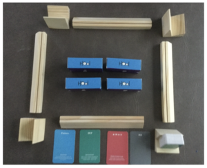 HOOL Board Game Pieces